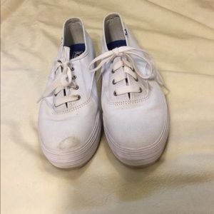 Keds Ortholite White tennis shoes 7.5